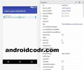 LInear Layout in android